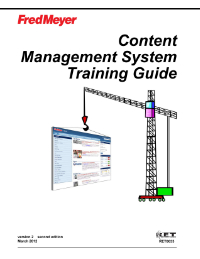 Content Management System Training Guide
