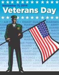 Veterans Day 2014 poster