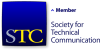 STC (Society for Technical Communication) member logo